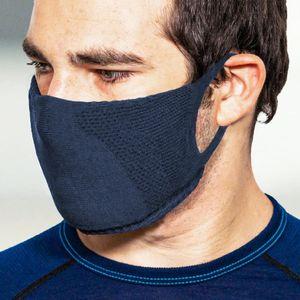 TRERE Social Mask Sportmaske Mund-Nasen-Bedeckung navy S