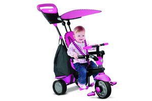 smarTrike®'s Glow Touch Steering® Dreirad 4-in-1 Trike - Farbe: Glow pink