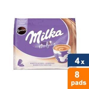 Senseo - Milka Choco pads - 4x 8 pads