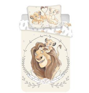 Disney König der Löwen Baby Bettwäsche Kopfkissen Bettdecke 100x135
