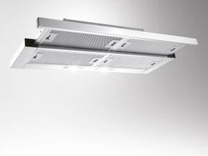 Silverline CRF 900 E / Crystal Flachschirmhaube / 90 cm breite/ 580m3/h , Flachschirmhaube,