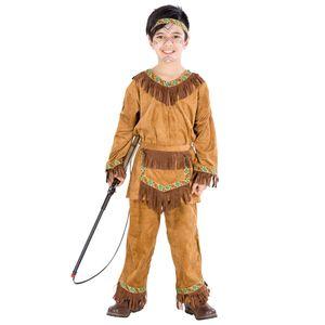 dressforfun Jungenkostüm Indianer kleiner Bär - 140 (10-12 Jahre)