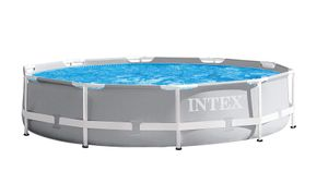 INTEX 26702GN PrismFramePool-Set inkl. GS-Filterpumpe 1250 l/h, 305x76cm