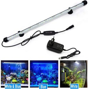 48cm LED Aquarium Lampe Tank Leuchtet Unterwasser Beleuchtung Dimmbar 3 Lichtmodi mit Timer