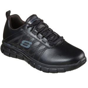 Skechers Womens Work SURE TRACK ERATH - II Sneakers Damen Schuhe Schwarz, Schuhgröße:37.5 EU