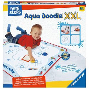RAVENSBURGER ministeps Aqua Doodle® XXL Set inkl. Malmatte, Stempel und Stift