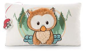 Nici 47094 Kissen Baby-Eule Owlino Plüsch rechteckig 43x25cm The Owlsons