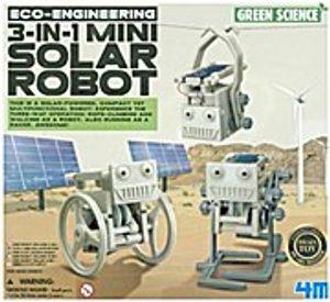 Eco-Engineering, 3-in-1 Mini Solar Robot (Experimentierkasten)