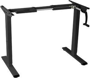 Flexispot H1B Höhenverstellbarer Schreibtisch Kurbelverstellbares Tischgestell, Passt für Alle Gängigen Tischplatten