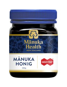 Manuka Health - Manuka Honig MGO 550+ [250g] - würziger Geschmack