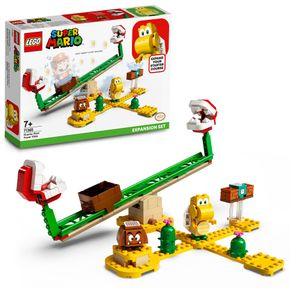 LEGO 71365 Super Mario Piranha-Pflanze-Powerwippe – Erweiterungsset, Bauspiel