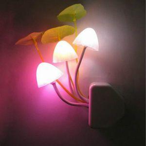 Austauschbaren LED - Lampe Rmantische Pilz Nacht Licht Wireless Mit kindern