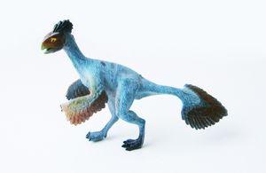 DINOSAURIER in Box Dinosaurs Dino Saurier Figur Deko Kinder Spielzeug 05(Archaeopteryx)