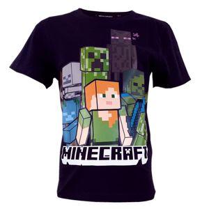 Minecraft Alex Kinder T-Shirt Kurzarm Shirt Baumwolle Größe - 128