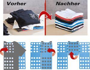Waschfaltbrett: zum Hemdenwaschen Faltbrett, blau, faltbar (Wäschemappe)