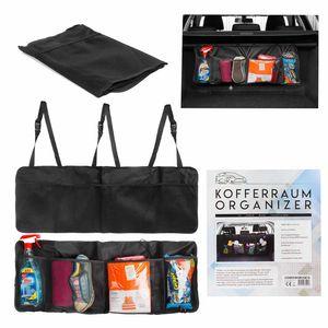 Kofferraum Organizer - Faltbarer Kofferraumtasche - Transportsystem