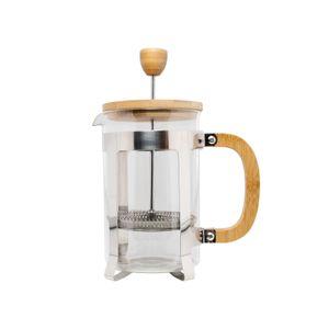 22171062 Kaffeebereiter aus Glas mit Bambusdeckel und Griff neuetischkultur