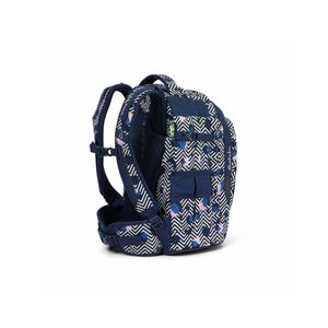 Satch Schulrucksack, Stoney Mony, Farbe/Muster: purple, pink, turquois