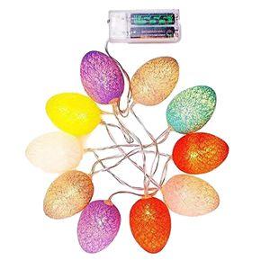 1 Stück Lichterkette 3m Mehrfarbig Ostern Osterei