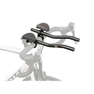 Triathlon-Aufsatz, Lenkeraufsatz Aero, Alu, schwarz