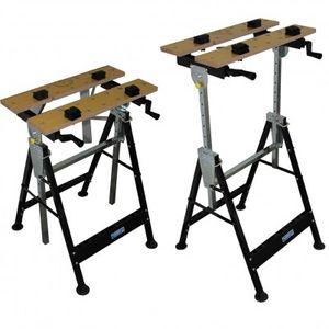 100 kg Werkbank Klappbar höhenverstellbar Werktisch Spanntisch Arbeitstisch