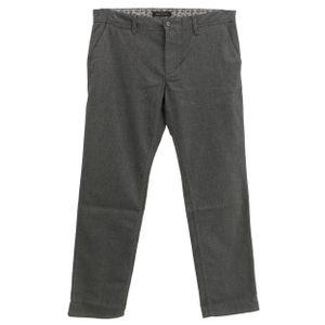 22531 MAC Jeans, Lenny,  Herren Jeans Hose, Gabardine Stretch, grauschwarzmeliert, W 36 L 32