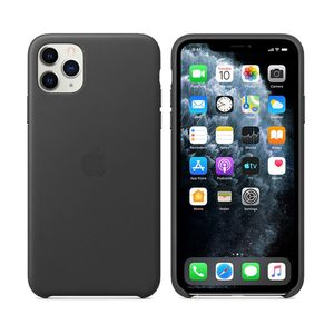 Apple iPhone 11 Pro Leather Case Black                  MWYE2ZM/A