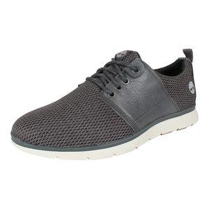Timberland Killington Leather Fabric Herren Stiefel Grau Schuhe, Größe:46