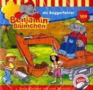 Benjamin Blümchen als Baggerfahrer (109)