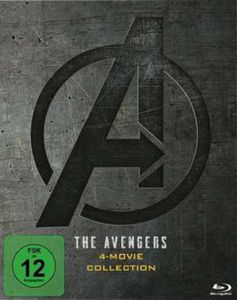 AVENGERS:  MOVIE COLLECTION (BR) 5Disc The Avengers 4-Movie Blu-ray Collection - Disney  - (Blu-ray Video / Action)