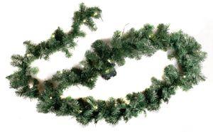 Weihnachtsgirlande 270 cm mit Timerfunktion 35 LEDs Warmweiß