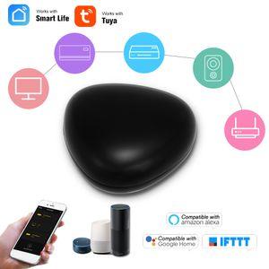 WiFi-IR-Fernbedienung IR-Steuerzentrale Wi-Fi (2,4 GHz) aktiviert Infrarot-Universalfernbedienung fš¹r Klimaanlage TV-Set-Top-Box mit Tuya Smart Life-APP kompatibel mit Alexa Google Home Voice Control