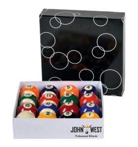 John West Pool Billardkugeln 48 mm