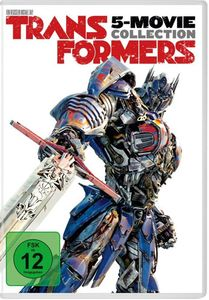 Transformers  1-5 Collection (DVD) 5Disc Min: 736DD5.1WS