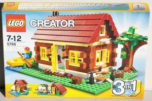 LEGO CREATOR 3 in 1 BLOCKHAUS HAUS FERIENHAUS LANDHAUS FLUSSHÜTTE 3 MODELLE
