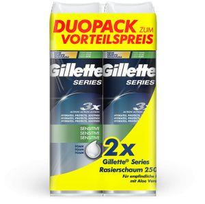 Gillette Duo Pack Series Schaum Sensitive mit Preisvorteil