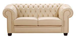 Max Winzer Chandler Sofa 2-Sitzer - Farbe: beige - Maße: 172 cm x 98 cm x 76 cm; 2884-2100-9210002-F07