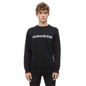 Calvin Klein Jeans Logo Sweatshirt CK Black M