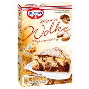 Dr. Oetker Marmor Wolke Kuchenbackmischung für einen Rührkuchen 455g