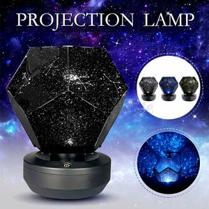 LED Sternenhimmel Projektor Nachtlicht USB Fernbedienung Lampe Galaxy Lampe Starry Mond Stern