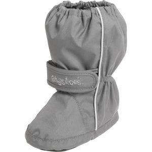 Playshoes Füßlinge Thermo Bootie grau Baby 194001-33, Größe Schuhe Kinder:22/23, Farbe Playshoes:grau
