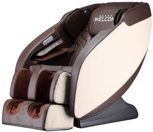 Massagesessel WELCON Prestige II Longlife Kunstleder braun / beige
