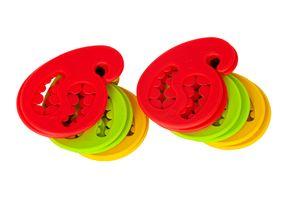 12er Set Sockenhalter Socken Wäscheklammer Aufhänger Klammer Halter Silikon