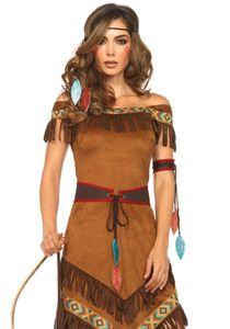 Native Princess, Farbe:BROWN, Größen:S/M