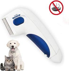 Hikeren Flohkamm, Elektrischer Läusekamm zum,für Katzen Hunde Flöhe Zecken Pflege Entfernungswerkzeuge Reinigung Capture