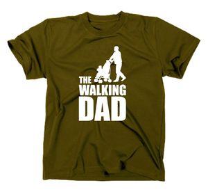Styletex23 T-Shirt The Walking Dad Fun, oliv, XL