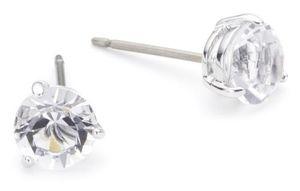 Swarovski Damen-Ohrringe Edelstahl/Kristall Solitaire 1800046
