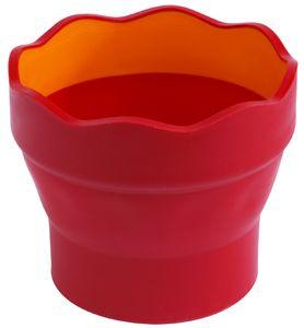 FABER-CASTELL Wasserbecher CLIC & GO rot