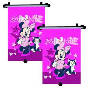 2x Minnie Mouse Auto Sonnenschutz Rollo Kinder Seitenschutz Sonnenblende