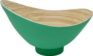 KeMar KitchenwareBambus Obstschale | Schale Mint Grün 32 cm